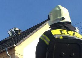 Wohnhausbrand mit glimpflichem Ausgang