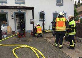 Kellerbrand in Malmeneich