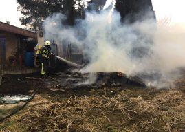 Erneut Gartenhütte niedergebrannt