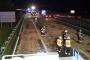 01.02. 04:58 Uhr  TH nach Lkw-Unfall A 3 Fahrtrichtung Köln4