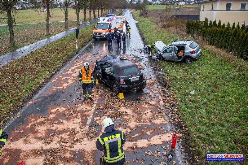 01.02. 10:27 Uhr TH nach Verkehrsunfall K 477 Richtung Offheim