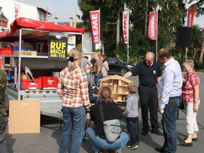 Gute Resonanz am Feuerwehr-Aktionstag bei REWE Kauferstein 3