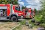 22.06.2020 13:29 Uhr| Brandeinsatz Gartenhaus, Gärten Nähe Bahnhof
