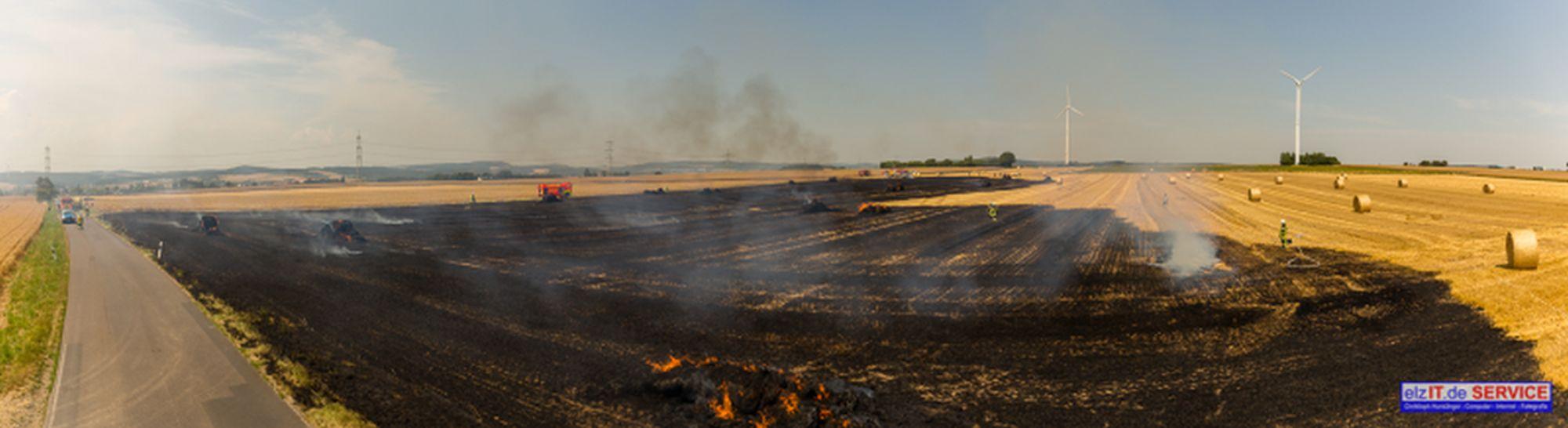 26.07.2019 13:58 Uhr Brandeinsatz Feldfläche, Offheim