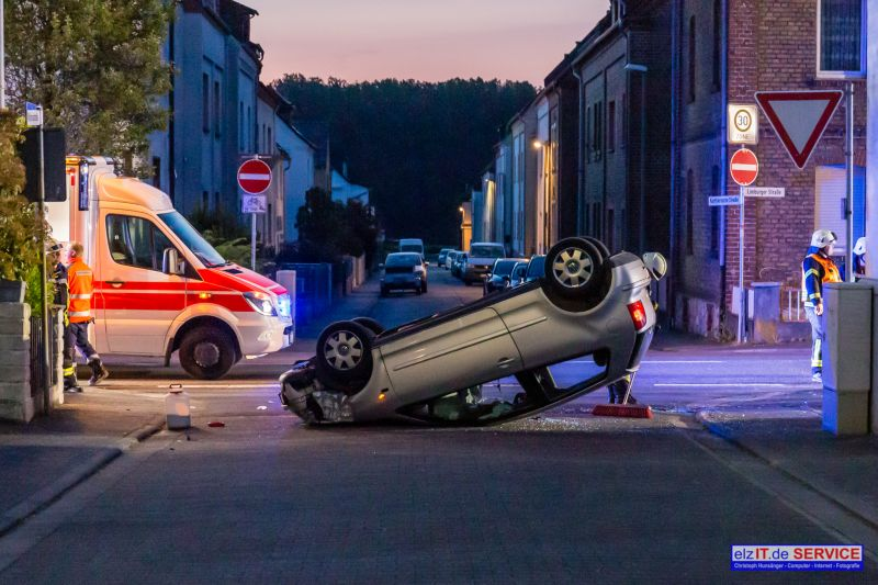 30.05.2019 04:21 Uhr | TH nach Verkehrsunfall, Limburger Straße