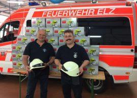 Neue Helme für die Einsatzabteilung