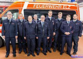 Feuerwehr-Führungskräfte ernannt