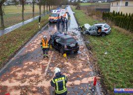 Zwei schwere Verkehrsunfälle innerhalb kurzer Zeit