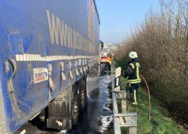 Erneut Lkw-Brand verhindert – Anfahrtswege durch Falschparker blockiert
