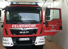 Neues Löschgruppenfahrzeug LF 10 bei der Feuerwehr Elz angekommen