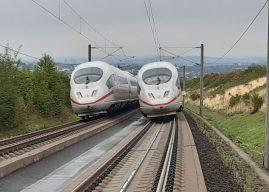 Person von ICE erfasst – 350 Bahn-Fahrgäste evakuiert