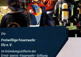 """Förderverein der Feuerwehr Elz und Gemeinde Elz sind Gründungsmitgliederder """"Ernst-Joeres-Feuerwehrstiftung-Limburg-Weilburg"""""""