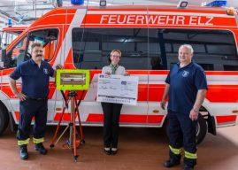 Infrarot-Heizstrahler für die Feuerwehr