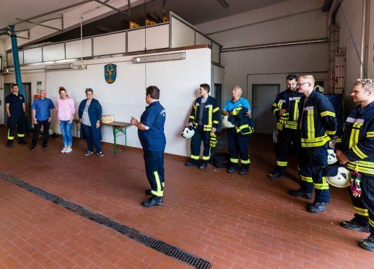 Powerfrauen zu Besuch bei der Feuerwehr